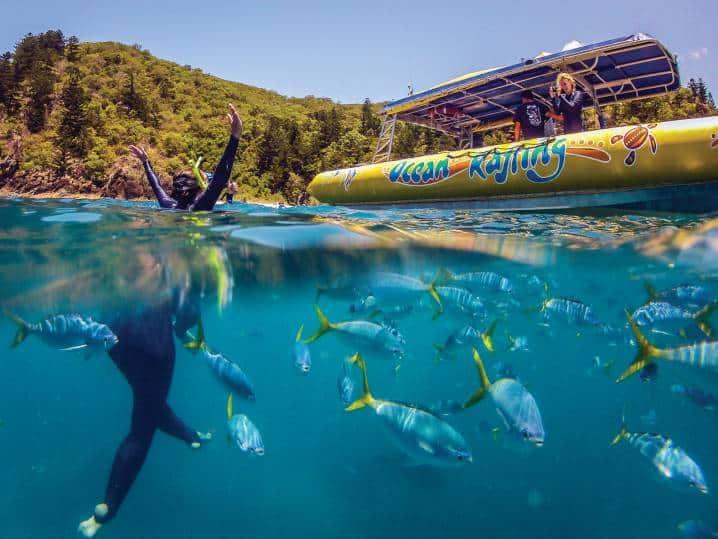 Ocean Rafting 8-opt